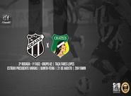 Começa a venda de ingressos para Ceará x Crateús, pela Fares Lopes