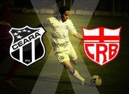 Começa hoje a venda de ingressos para Ceará x CRB