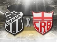 Na estreia da Copa do Nordeste, Ceará recebe o CRB no Castelão