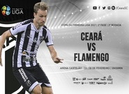 Primeira Liga: Venda de ingressos para Ceará x Flamengo começa nessa sexta-feira