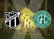 Começa a venda de ingressos para Ceará x Guarani