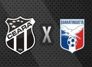 Venda de ingressos para Ceará x Guaratinguetá começa nesta segunda-feira