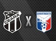 Começa a venda de ingressos para Ceará x Guaratinguetá