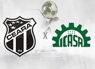 Com objetivos diferentes, Ceará e Icasa se enfrentam no Castelão