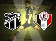 """Ceará x Joinville duelam em mais um """"jogo de seis pontos"""""""