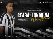 Na Arena Castelão, Ceará enfrenta o Londrina pela 4ª rodada da Série B