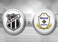 Decidindo seu futuro, Ceará recebe o Macaé na Arena Castelão