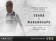 Pela 2ª fase do Estadual, Ceará encara o Maranguape hoje