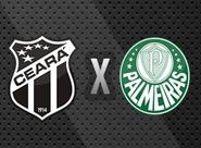 Esquema especial de segurança e trânsito durante o jogo Ceará x Palmeiras