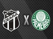 Contando com o apoio do seu torcedor, Ceará recebe o Palmeiras