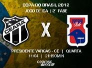 Para iniciar bem na 2ª fase da Copa do Brasil, Ceará recebe o Paraná