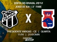 Continua a venda de ingressos para Ceará x Paraná