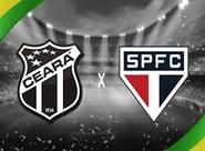 Para avançar na Copa do BR, Ceará recebe o São Paulo no Castelão