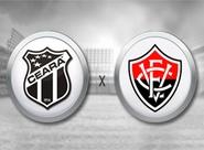 Ceará x Vitória: Com ingressos a partir de R$ 5,00, venda continua