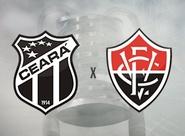 Jogando em casa, Ceará recebe o Vitória pela semifinal do Nordestão