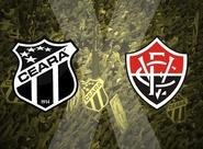No encerramento do 1º Turno, Ceará recebe o Vitória no PV