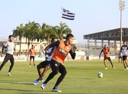 Ceará treina, encerra preparação e já concentra para partida contra o Botafogo