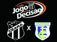 Venda de ingressos para o jogo entre Ceará x Itapipoca