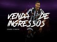 Com ingressos promocionais, venda para Ceará x Bahia iniciou na tarde dessa quinta-feira