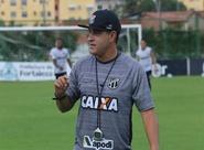 Antes de viajar para São Luís, Ceará realiza treino fechado em Porangabuçu