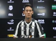 """Chico: """"Minha vontade é de ajudar o time e dar meu melhor para o Ceará sair vitorioso"""""""