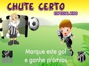 Ceará x Paraná: Chute Certo será especial para Torcedores Kids