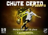 Chute Certo - Ceará x Paraná: Participe e marque um golaço
