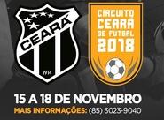 Vozão promove Circuito Ceará de Futsal 2018