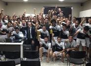 Coach Domingos Cordovil palestrou para elenco alvinegro e comissão técnica