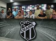 Em coletiva, Ceará confirmou a contratação de mais três reforços