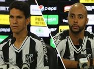 Magno Alves e Romário são apresentados à imprensa