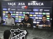 Em coletiva de imprensa, Taça Asa Branca é apresentada em Porangabuçu