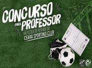 Ceará anuncia aprovados no concurso para professor da escolinha do clube
