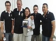 Conselho Deliberativo Alvinegro presta homenagem a Sra Vera Maria Aragão Felício