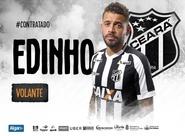 Reforço: Ceará acerta a contratação do volante Edinho