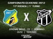 Ceará viaja para disputar a 11ª rodada do Estadual 2012