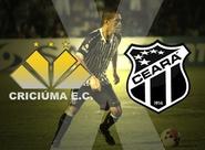 Nesta noite, Ceará e Criciúma voltam a se enfrentar