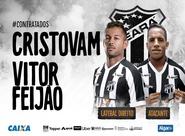 Lateral direito Cristovam e atacante Vitor Feijão reforçam o Vozão em 2019