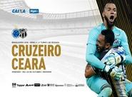 Fora de casa, Ceará enfrenta o Cruzeiro pelo Campeonato Brasileiro