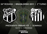 Venda de ingressos para Ceará x Santos continua neste domingo