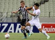 Ceará pressiona, mas desaba após sofrer gol na etapa final e perde: 2 x 0