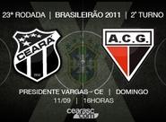 Para quebrar sequência sem vitória, Ceará encara o Atlético/GO