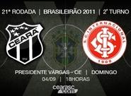 Continua a venda de ingressos para Ceará x Internacional