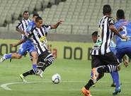 Em jogo tranquilo, Ceará goleia o Parnahyba e avança na Copa do BR