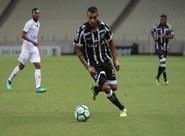 Contra o América/MG, Ceará começa atrás, mas consegue empate no fim com gol de Pio