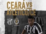 Na Arena Castelão, Ceará recebe o Atlético/CE pelo Estadual