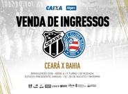Ceará x Bahia: Confira informações sobre venda de ingressos