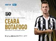 Brasileirão: Ceará e Botafogo se enfrentam no fechamento da 29ª rodada