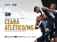 Ceará recebe o Atlético/MG pela 31ª rodada do Campeonato Brasileiro