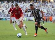 Ceará arranca empate contra vice-líder Internacional e sobe uma posição na tabela